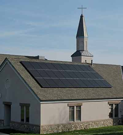 church solar options